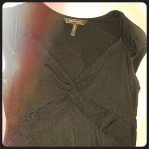 BCBG V-neck work shirt